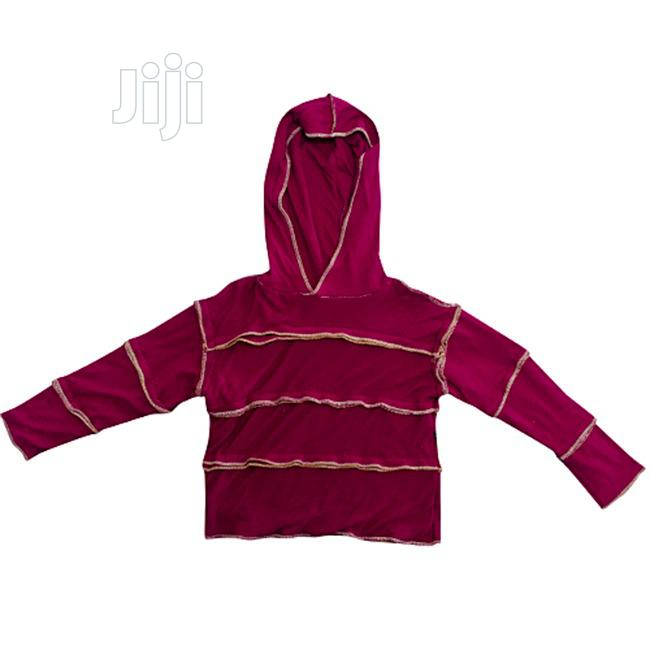 Ribbed Hooded T-Shirt for Kids | Children's Clothing for sale in Ajah, Lagos State, Nigeria