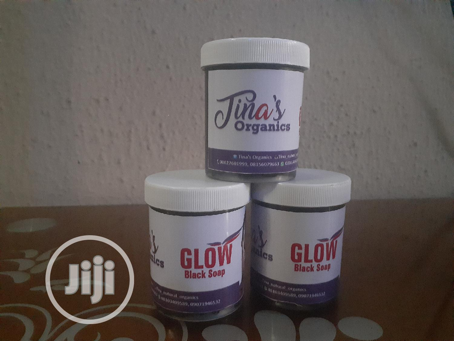 Glow Black Soap And Glow Oil