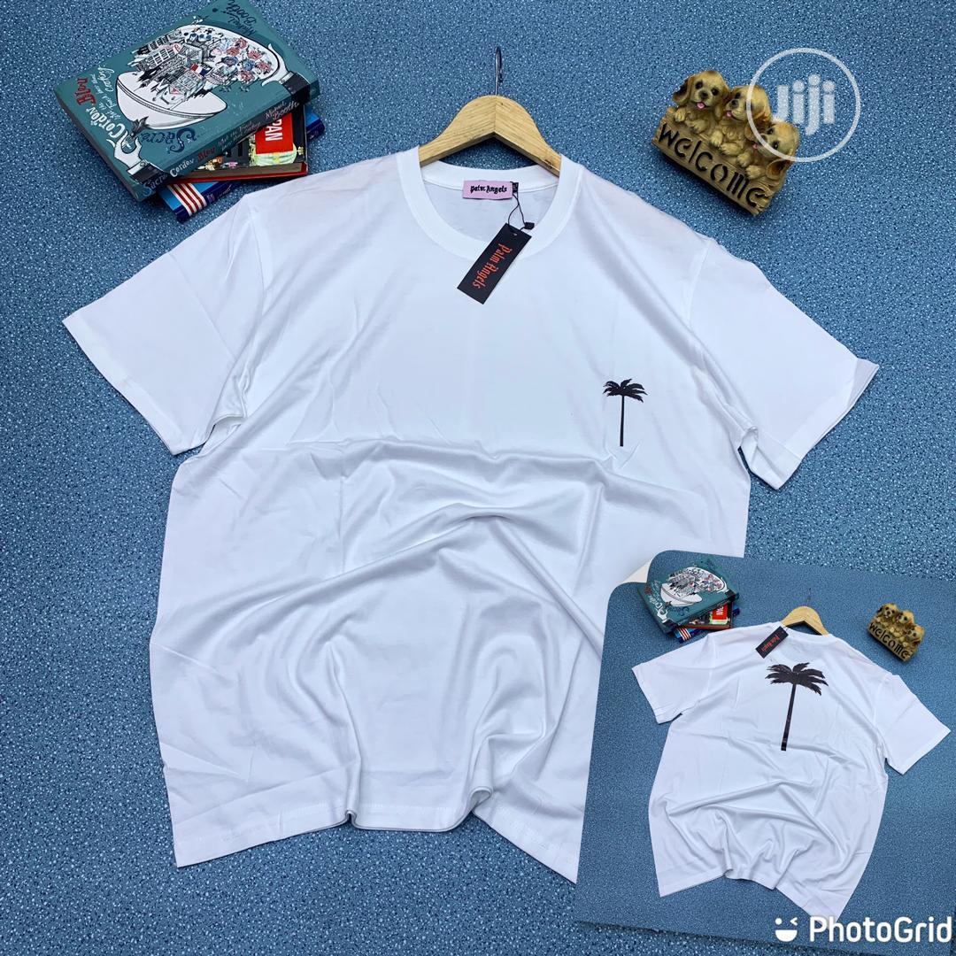 Authentic Palm Angel T-Shirts(White Black)