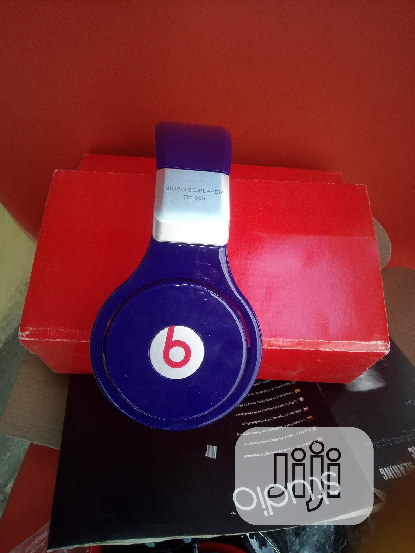 Headphone Tm-806 Beats By Dre Bluetooth Wireless Headset   Headphones for sale in Ajah, Lagos State, Nigeria
