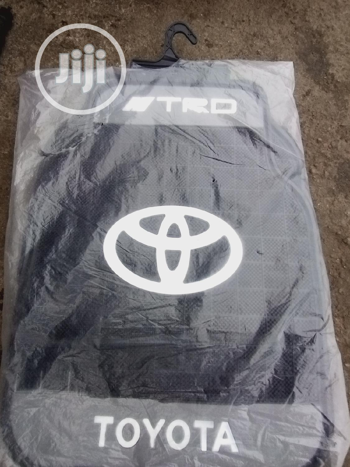 Toyota Car Footmat