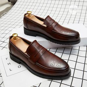 Mens Business Slip On Shoes Footwear-brown   Shoes for sale in Lagos State, Alimosho
