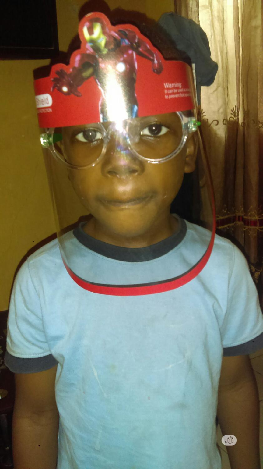 Face Shield For Kids | Safety Equipment for sale in Gbagada, Lagos State, Nigeria