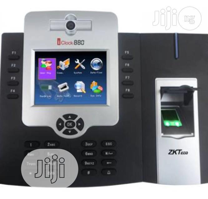Zkt Lock 880 Biometric Time Attendance System