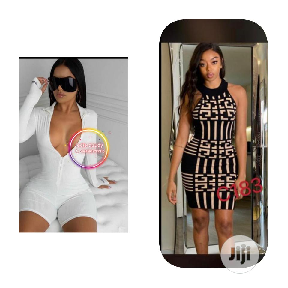New Arrival Female Short Jumpsuit and Fitted Gown