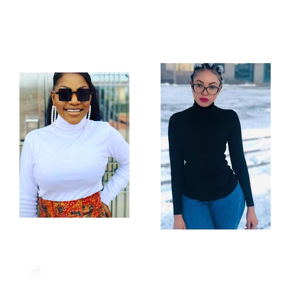 Quality Female Turtle Neck Top