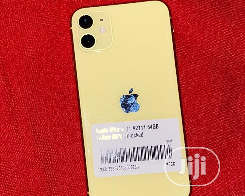 Apple iPhone 11 64 GB Yellow | Mobile Phones for sale in Victoria Island, Lagos State, Nigeria
