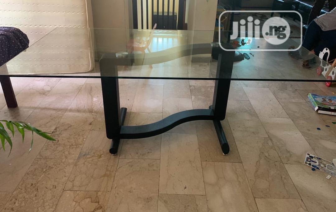 Archive: Glass Dining Set - 6 Chairs