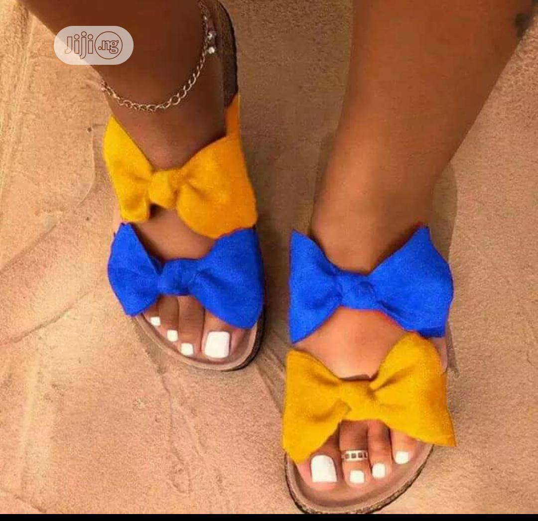 High Quality Designer Turkey Slippers From Home Of Zella | Shoes for sale in Ikeja, Lagos State, Nigeria