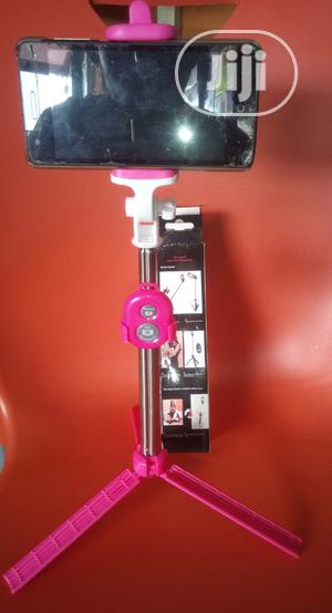 Selfie Stick Phone Camera Tripod Stand For Video Recording | Accessories for Mobile Phones & Tablets for sale in Lagos State, Ajah