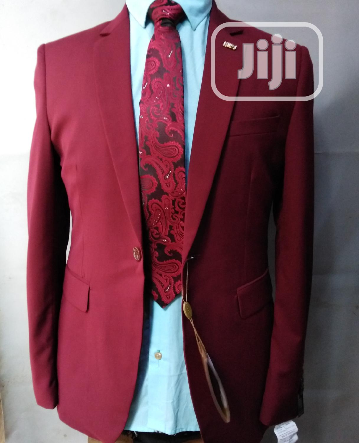 Wine Quality Suit | Clothing for sale in Yaba, Lagos State, Nigeria