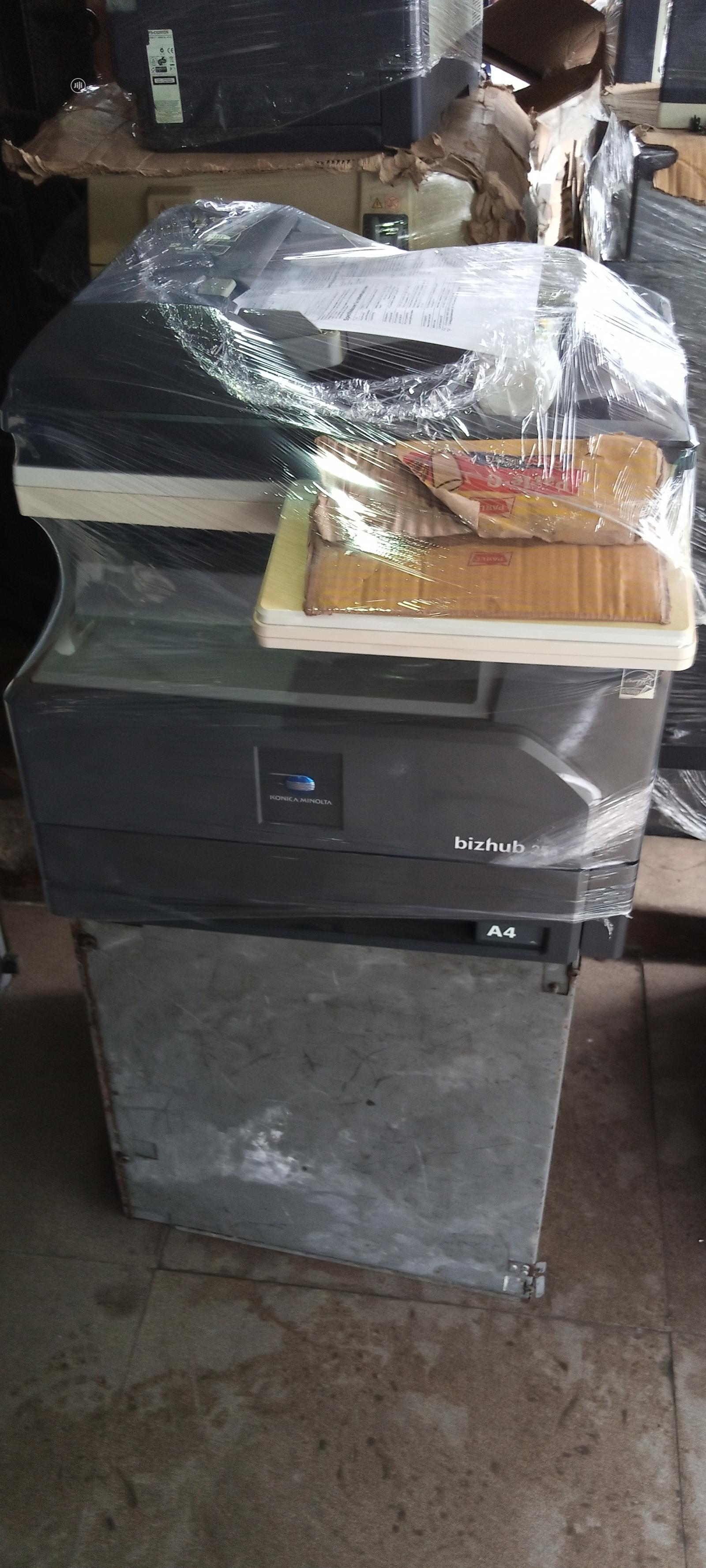 Bizhub 25e:Black White Three In Printer. | Printers & Scanners for sale in Ojo, Lagos State, Nigeria