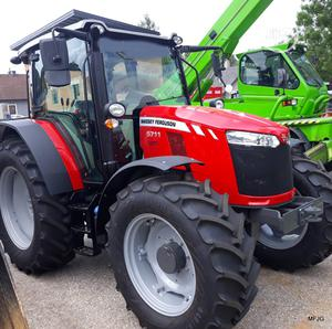 Massey Ferguson Tractor 5711 New 4-Wd | Heavy Equipment for sale in Lagos State, Ikeja