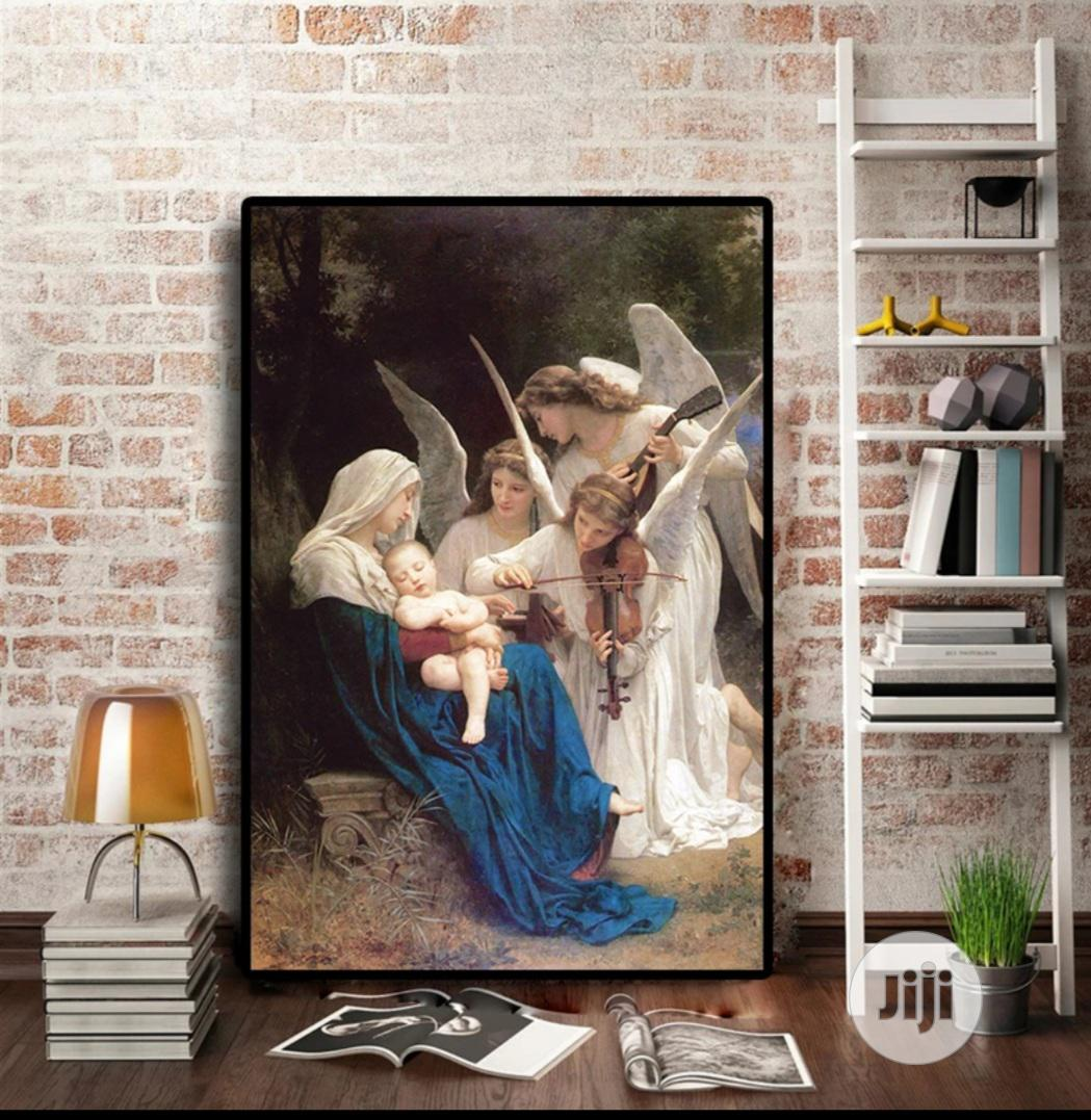 Canvas Painting Without Frame