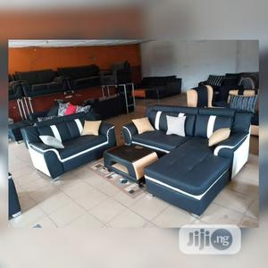 Set of L-Shaped Sofa With 2seater and a Center Table | Furniture for sale in Lagos State, Ajah