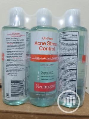 Neutrogena Oil Free Acne Stress Control Toner 236ml X 1pcs   Skin Care for sale in Lagos State, Oshodi