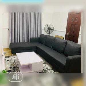 Set of L-Shaped Sofa With a Center Table | Furniture for sale in Lagos State, Maryland
