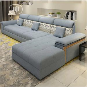 Set of L-Shaped Sofa Absolutely Stylish | Furniture for sale in Lagos State, Victoria Island