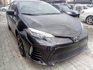 Toyota Corolla 2017 Black   Cars for sale in Lagos State, Ajah