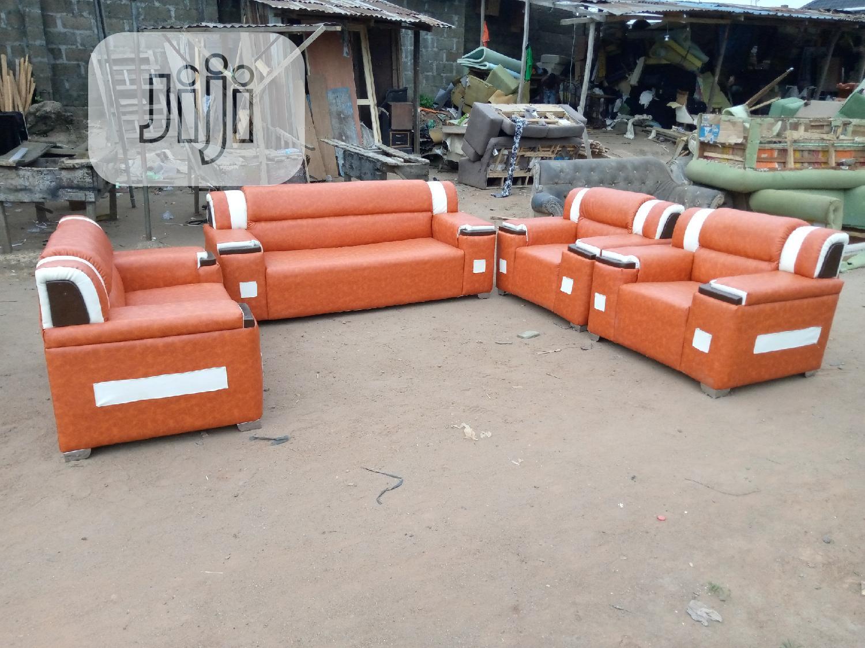 Ful Set Of Leather Sofa