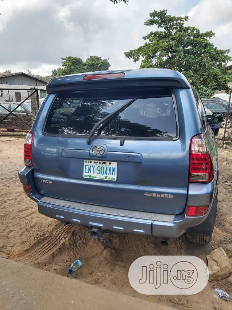 Toyota 4-Runner 2005 Limited V6 4x4 Blue   Cars for sale in Amuwo-Odofin, Lagos State, Nigeria