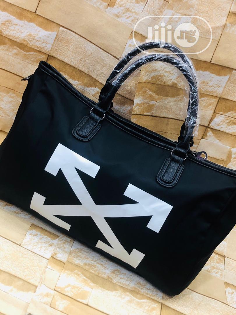 Off White Traveling Bag Original