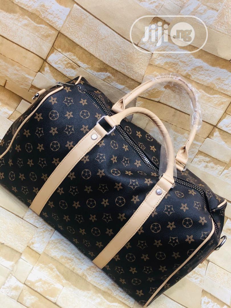 Louis Vuitton Traveling Bag Original
