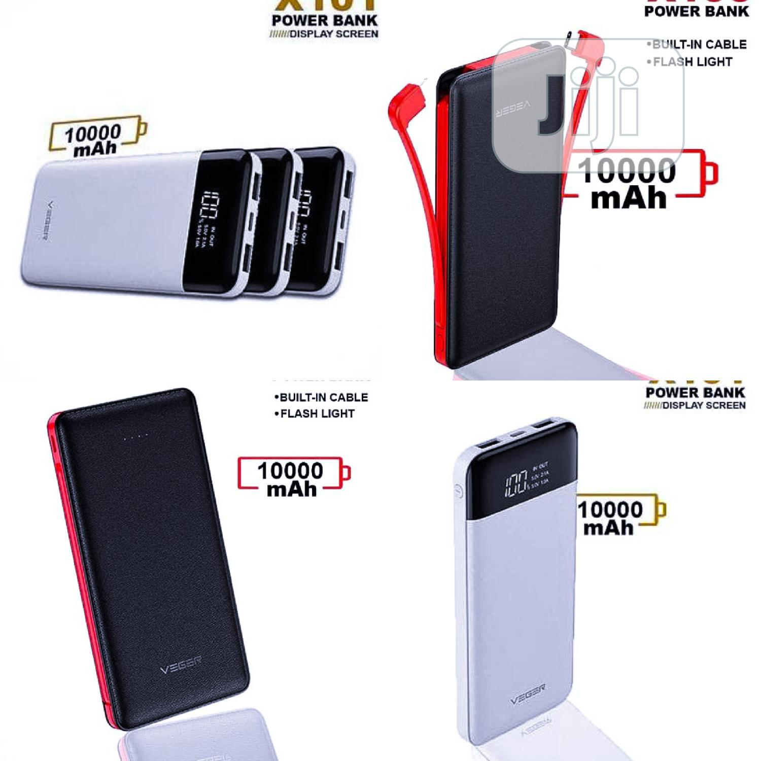 10,000mah Power Bank Double Cable for Corporate Gifts