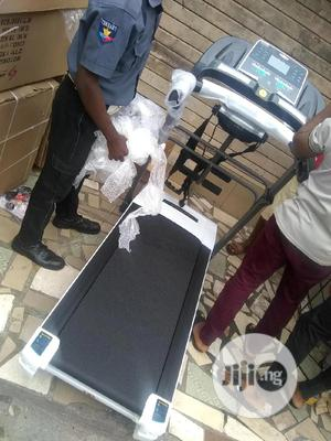 2.5hp Treadmill Heavy Duty With Massager   Sports Equipment for sale in Lagos State, Ikeja