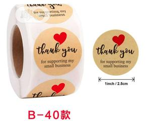 Thank You For Supporting My Small Business Stickers | Printing Services for sale in Lagos State, Amuwo-Odofin