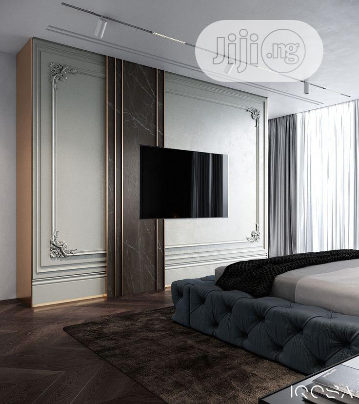 Interior Exterior Design Tv Wall Design Pop Design E. T. C | Building & Trades Services for sale in Maryland, Lagos State, Nigeria