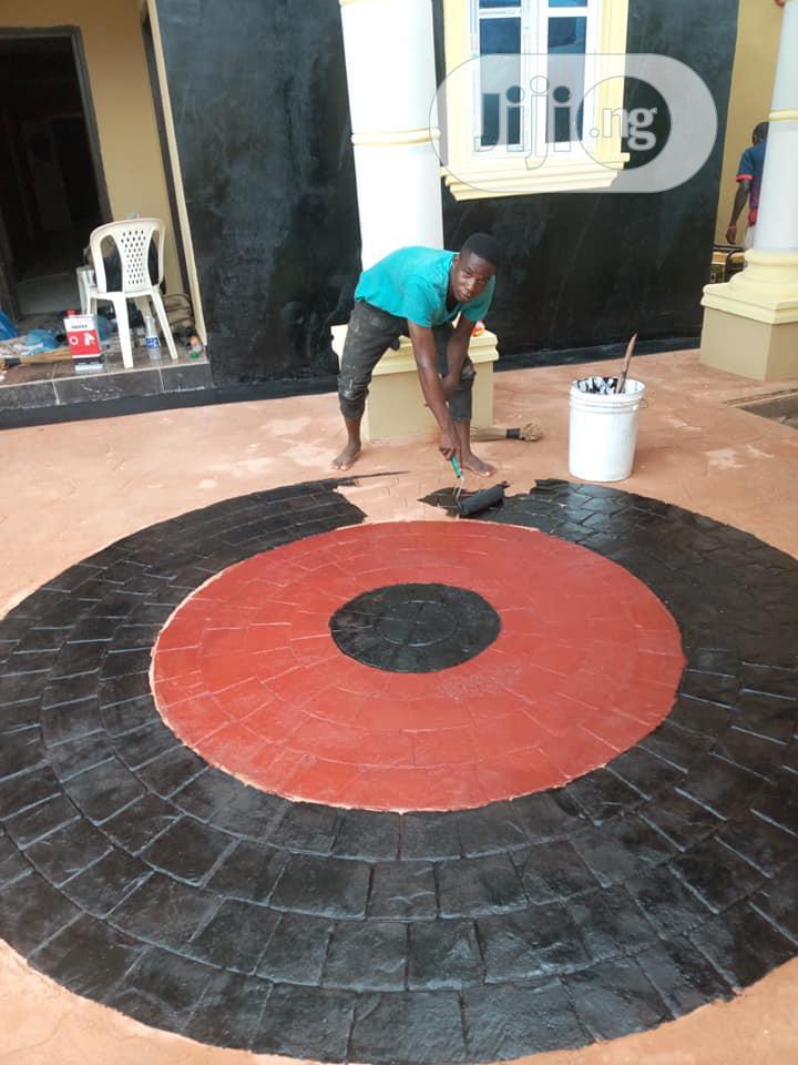 Increate Stamp Concrete Floor