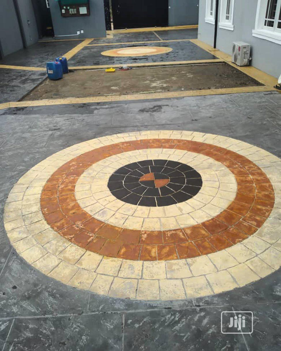 Increate Stamp Concrete Floor | Building & Trades Services for sale in Osogbo, Osun State, Nigeria