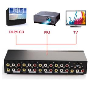 8 Ports RCA Video Audio AV Splitter Switcher TV DVD Monitor   Accessories & Supplies for Electronics for sale in Abuja (FCT) State, Gwarinpa