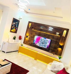 Contemporary Panel TV Stand With LED Lights | Furniture for sale in Lagos State, Lekki