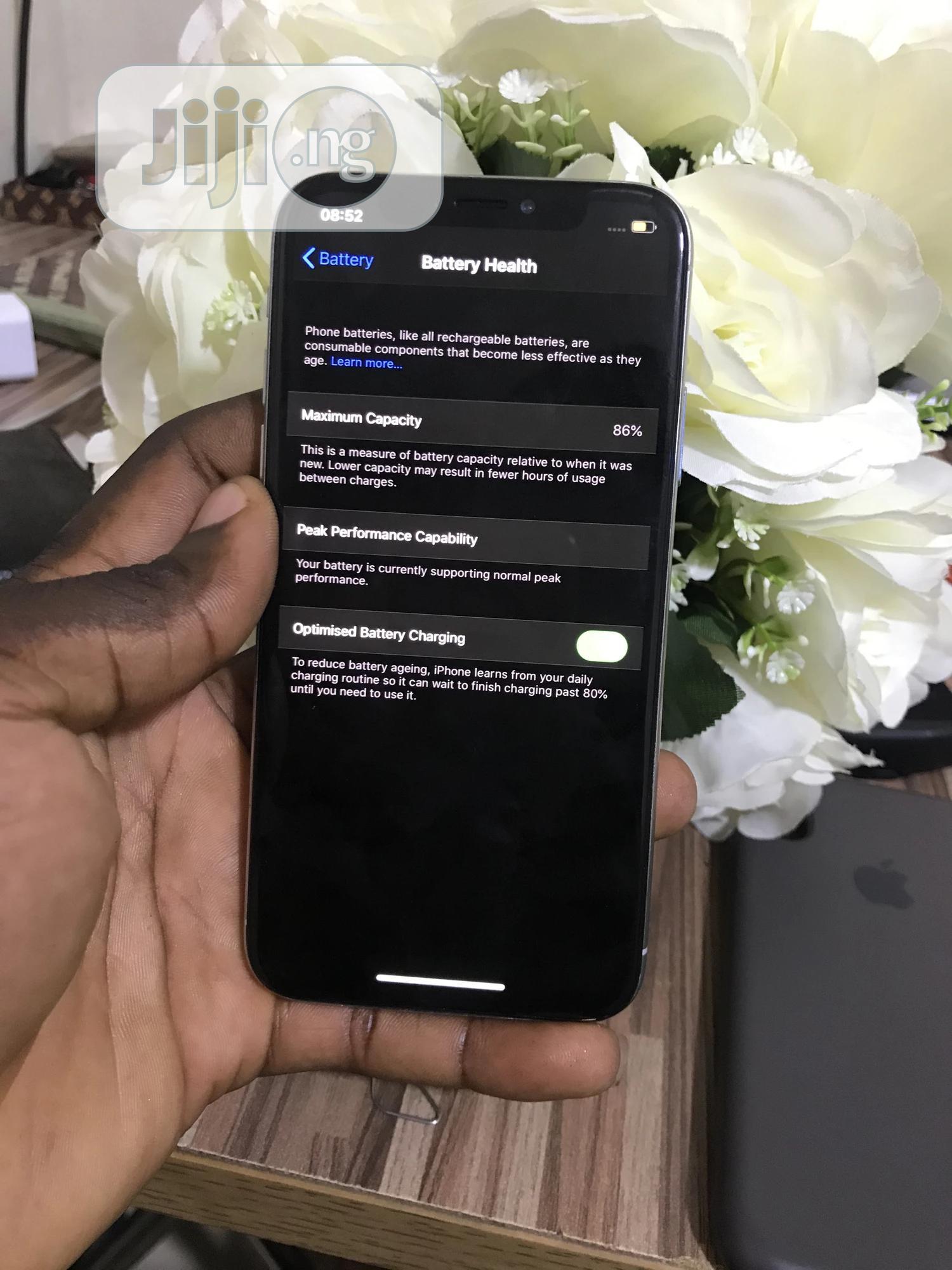 Apple iPhone X 64 GB White | Mobile Phones for sale in Ikeja, Lagos State, Nigeria