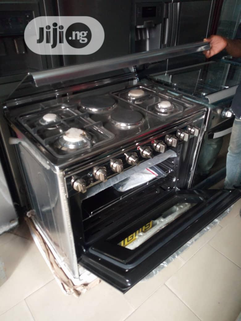 Semi Industrial 6 Burners Cooker(Gas And Electric)