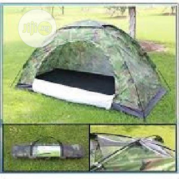 Camping Tent For 2 People Military Colour