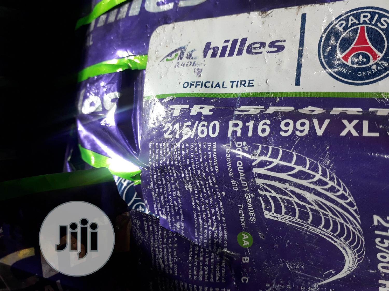 Brand New Achilles Tyre 215/60/16