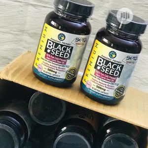Amazing Herbs Premium Black Seed Oil 500 Mg - 90 Ct | Vitamins & Supplements for sale in Lagos State, Ikeja