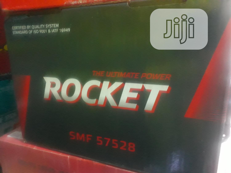 Original 75ah Rocket Battery(Made In Korea)