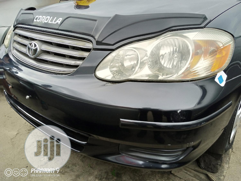 Archive: Toyota Corolla 2003 Sedan Black