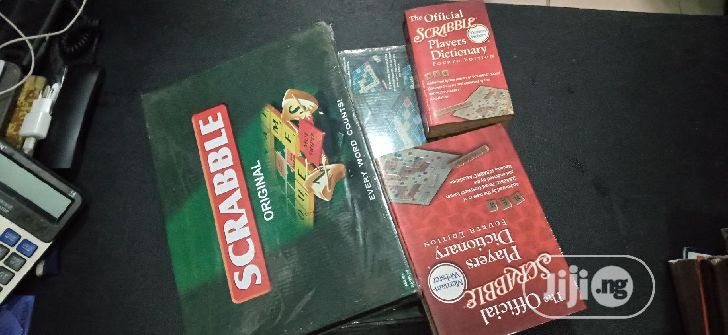 Archive: Scrabble Board And Dictionary