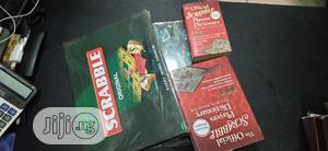 Scrabble Board And Dictionary   Books & Games for sale in Lagos State, Yaba