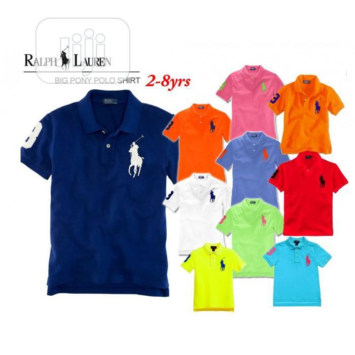 Ralph Lauren Kids Polo T-Shirt (1-8yrs)
