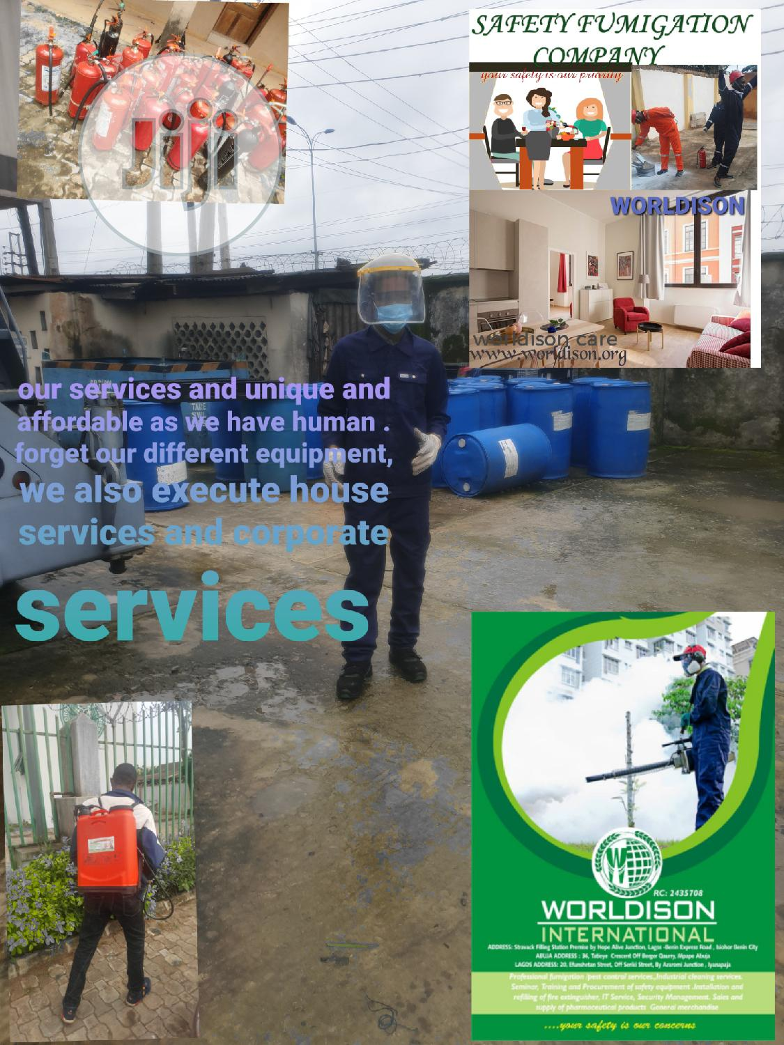 Fumigation, Disinfection and Pest Control