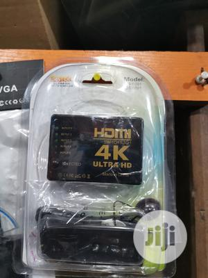 Hdmi Switch 5 To 1 4K Ultra HD | Accessories & Supplies for Electronics for sale in Lagos State, Lagos Island (Eko)