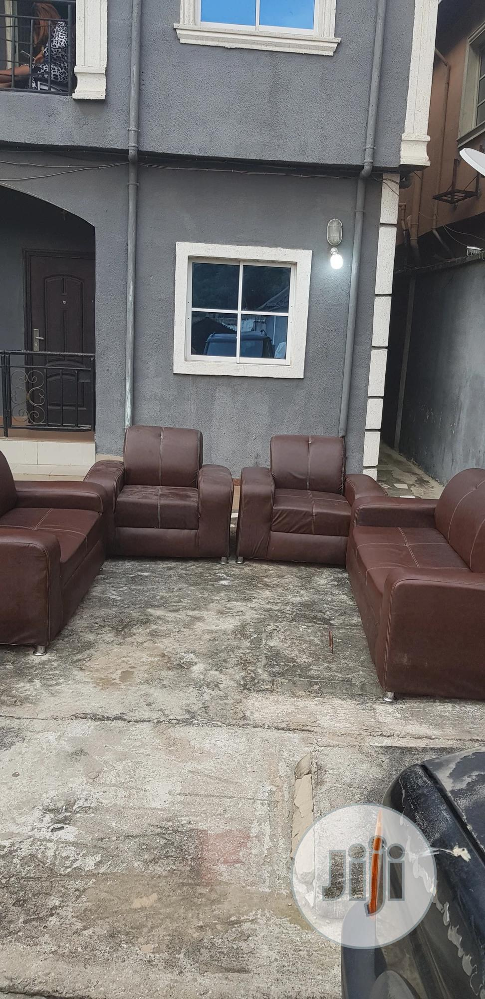 2 Month Used Complete Set of Leather Chair