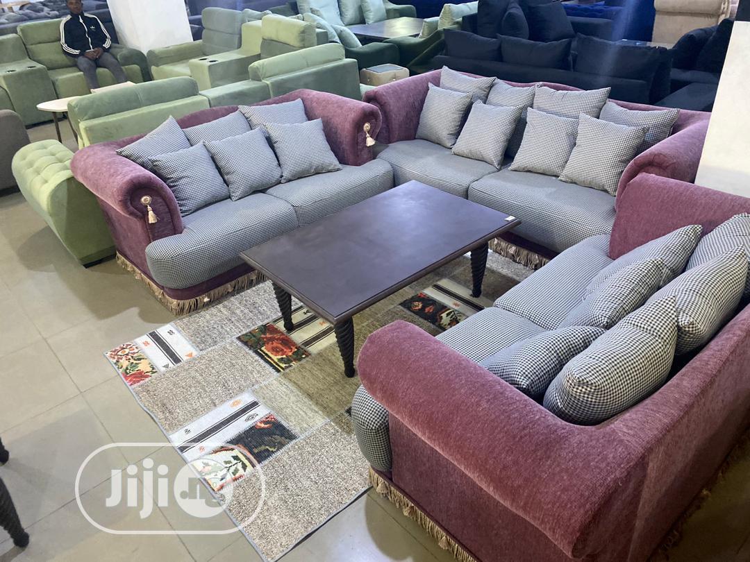 Beautiful Bespoke Sofa Set | Furniture for sale in Wuse 2, Abuja (FCT) State, Nigeria