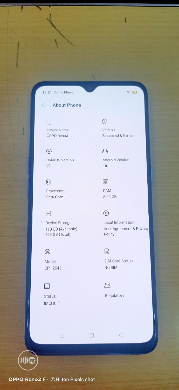 New Oppo Reno 3 128 GB Blue